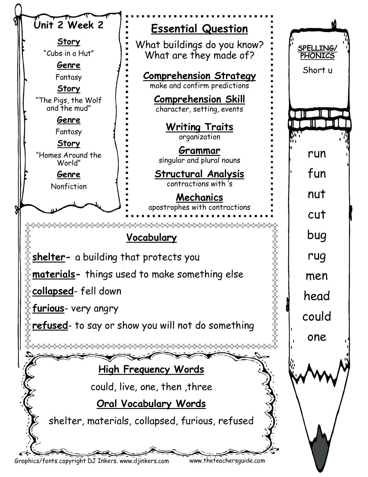 hight resolution of Mcgraw Hill Language Arts Worksheets   Printable Worksheets and Activities  for Teachers
