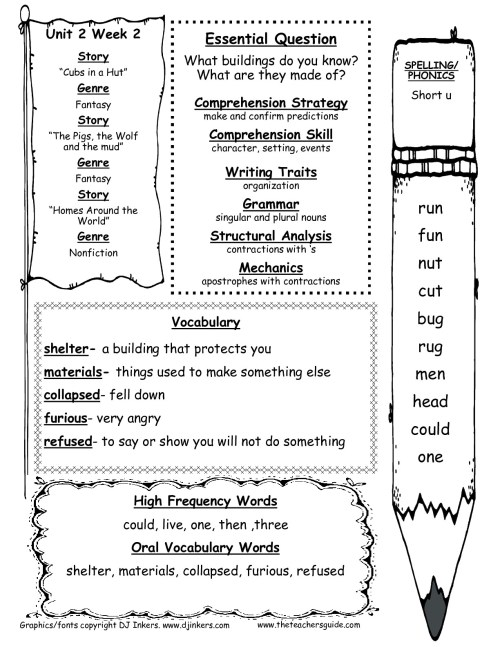 small resolution of Mcgraw Hill Language Arts Worksheets   Printable Worksheets and Activities  for Teachers