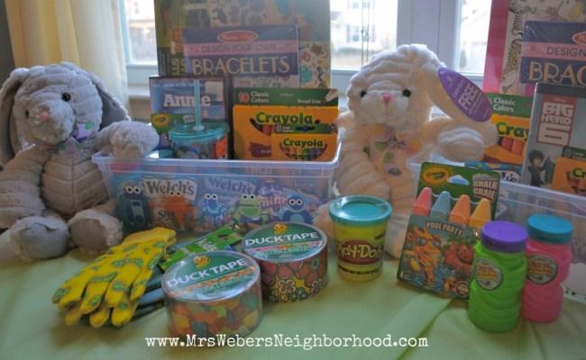 25 Easter Basket Ideas For Kids Mrs Weber S Neighborhood