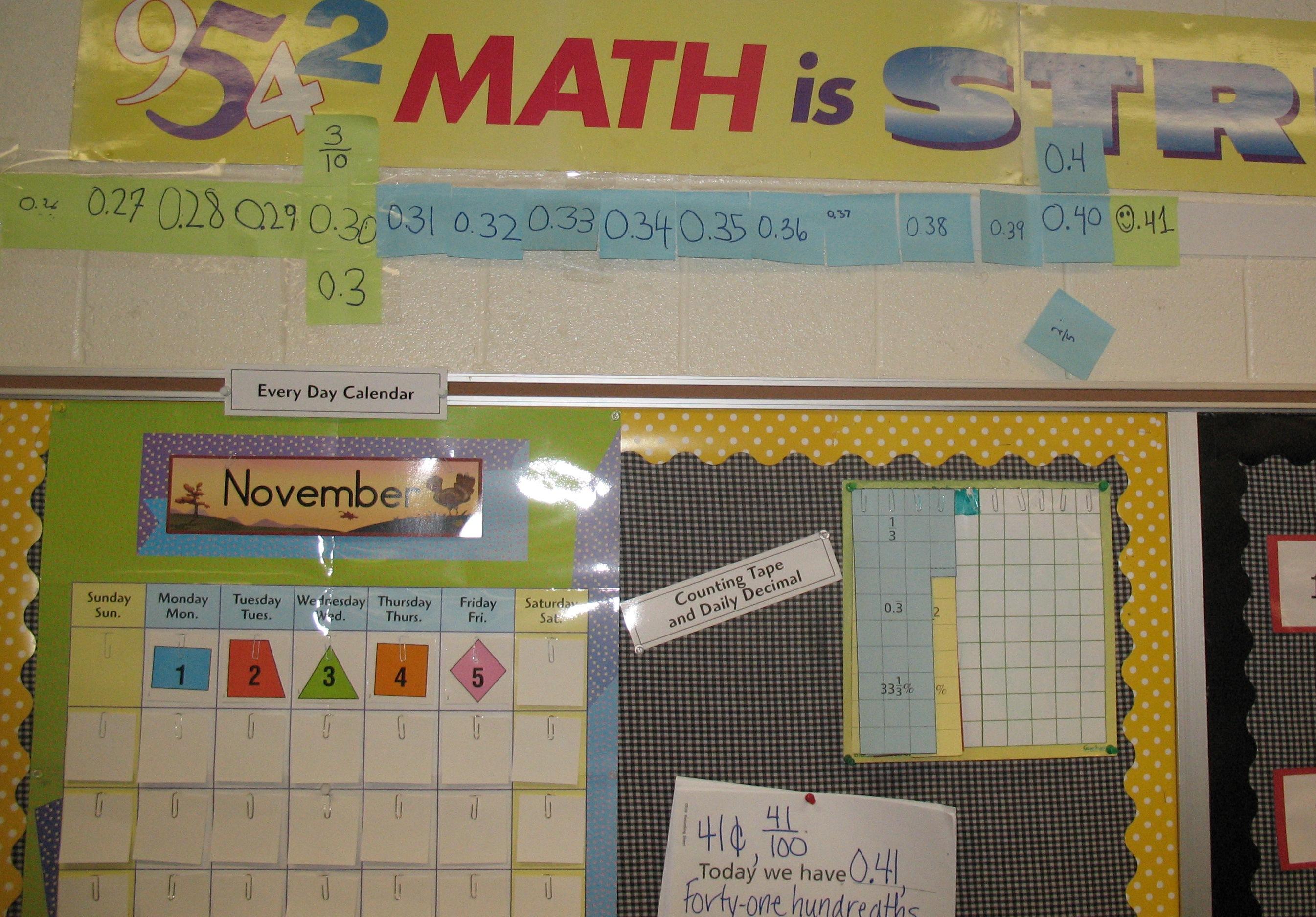 Elementary Math Patterns Design Patterns