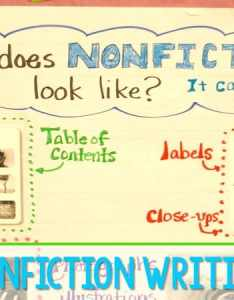 Nonfiction writing in kindergarten anchor charts for informational texts and model writers workshop also rh mrswillskindergarten