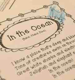 Ocean Week Lesson Plans for Kindergarten \u0026 1st [ 963 x 1600 Pixel ]