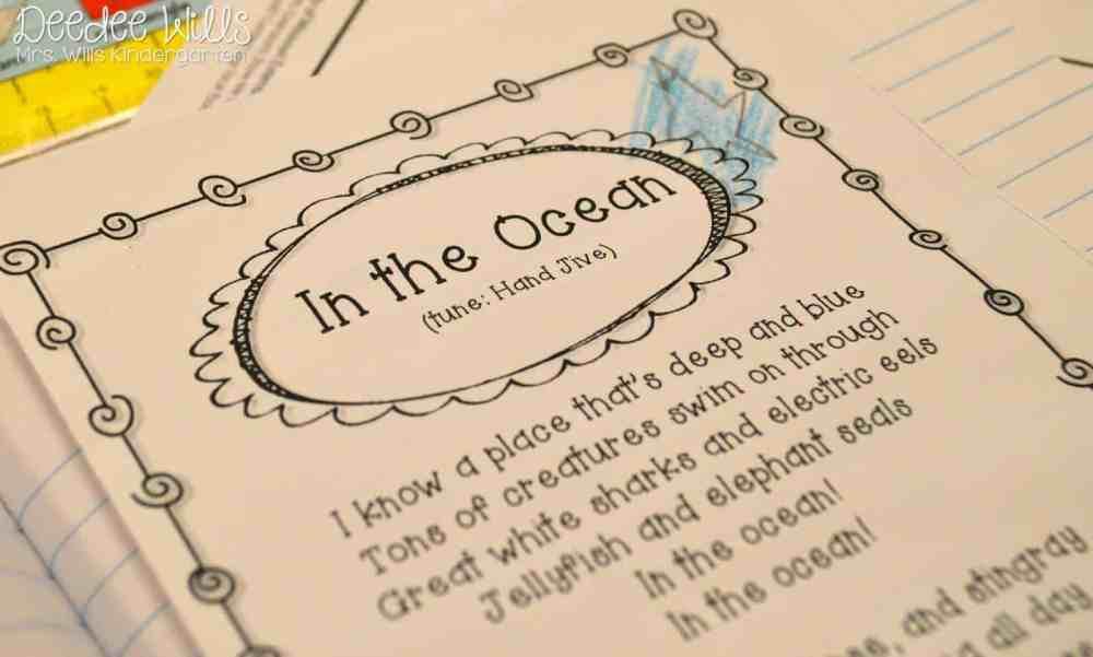 medium resolution of Ocean Week Lesson Plans for Kindergarten \u0026 1st