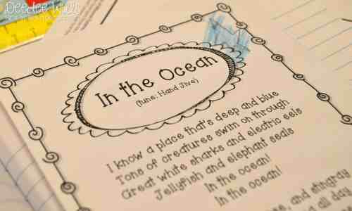 small resolution of Ocean Week Lesson Plans for Kindergarten \u0026 1st
