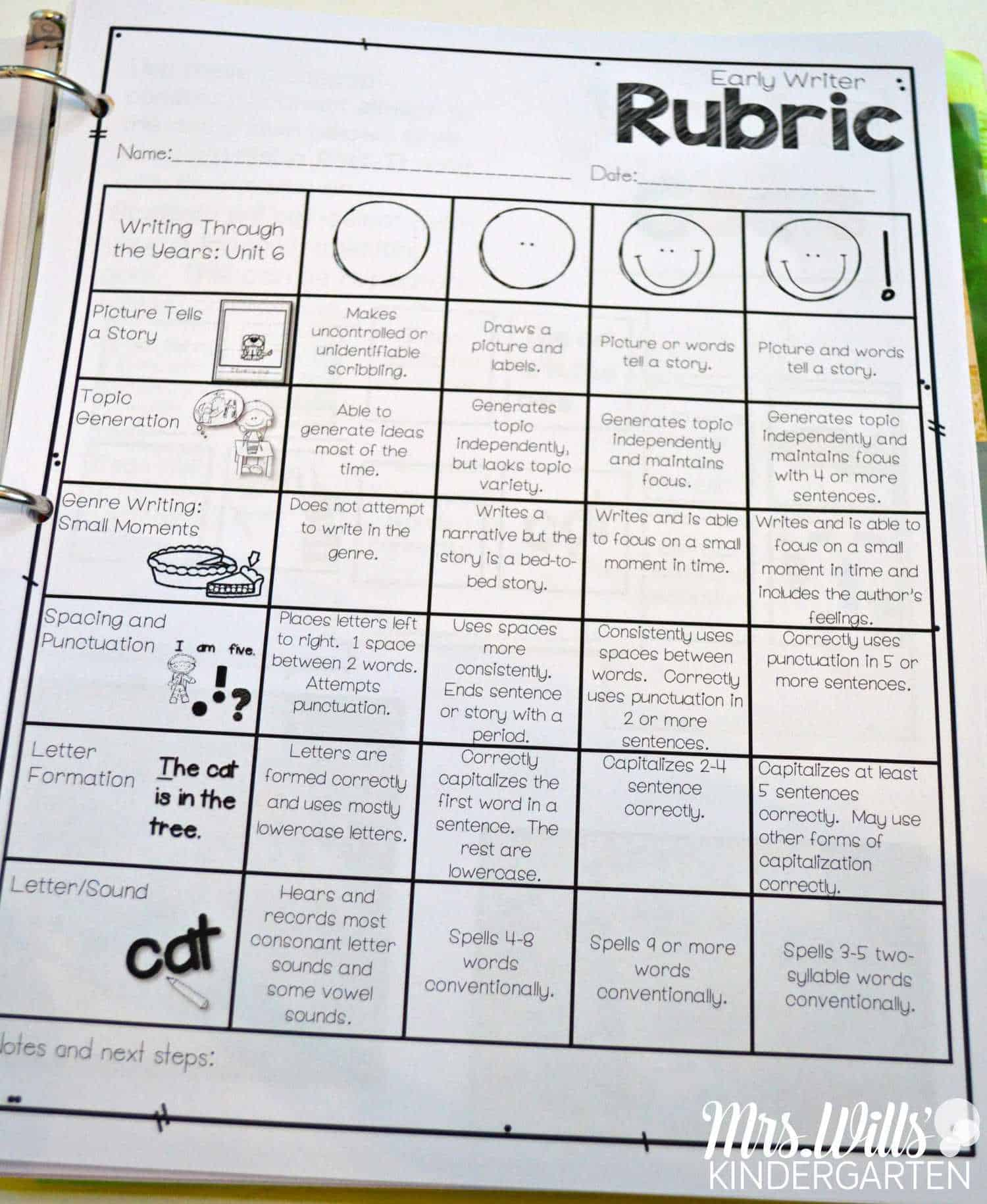Tips For Organizing Your Reading And Writing Rubrics