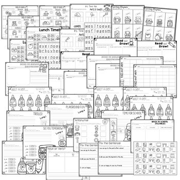Save My INK: Aug/Sept 1st Grade Math and