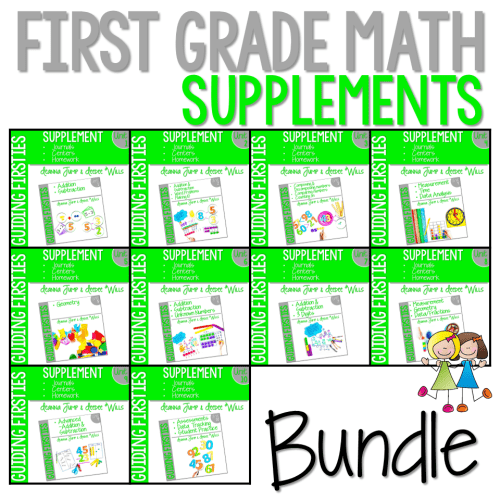small resolution of First Grade Math Printables