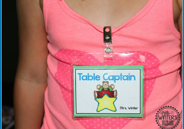 Table Captains Freebie!