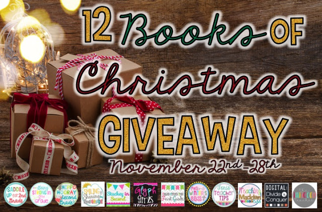 12 Books of Christmas Giveaway!