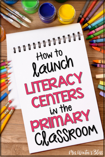 literacy centers for K-2 classrooms