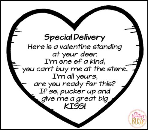 valentines day heart craft poem
