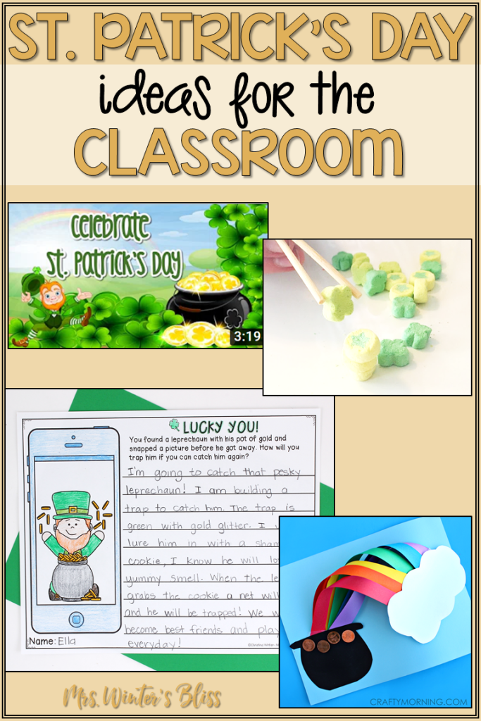 st patricks day ideas for the classroom