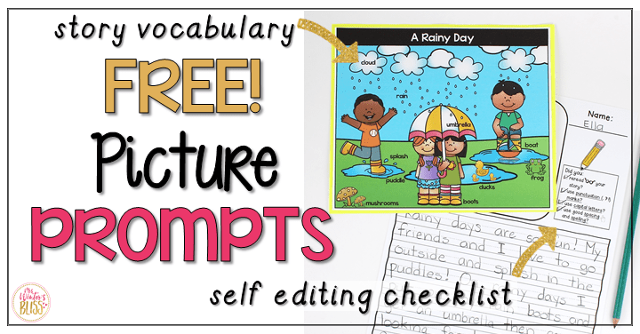 Writing Picture Prompts for Elementary Kids