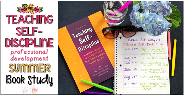 Summer teacher book study
