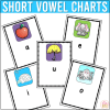 long short vowel anchor charts