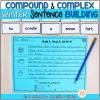 Compound complex sentences activities