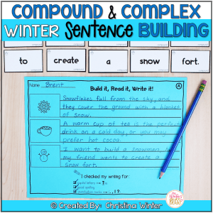 Compound complex sentences activities