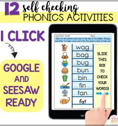 CVC Word Ladders - Printable and Digital Phonics Activities - distance  learning - Mrs. Winter's Bliss [ 2400 x 2400 Pixel ]