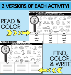 Phonics Awareness Worksheets   Printable Worksheets and Activities for  Teachers [ 1600 x 1600 Pixel ]