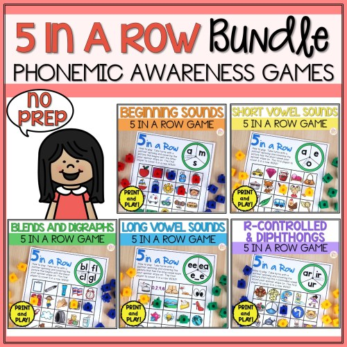 small resolution of Phonemic Awareness Activities - All Vowels