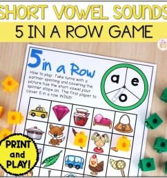 Phonemic Awareness Activities - Short Vowel CVC Worksheet Games - Mrs.  Winter's Bliss [ 1500 x 1500 Pixel ]