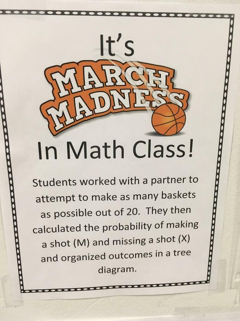 medium resolution of they then illustrated the probability of making and missing a basket on a tree diagram students did a great job learned quite a bit about tree diagrams