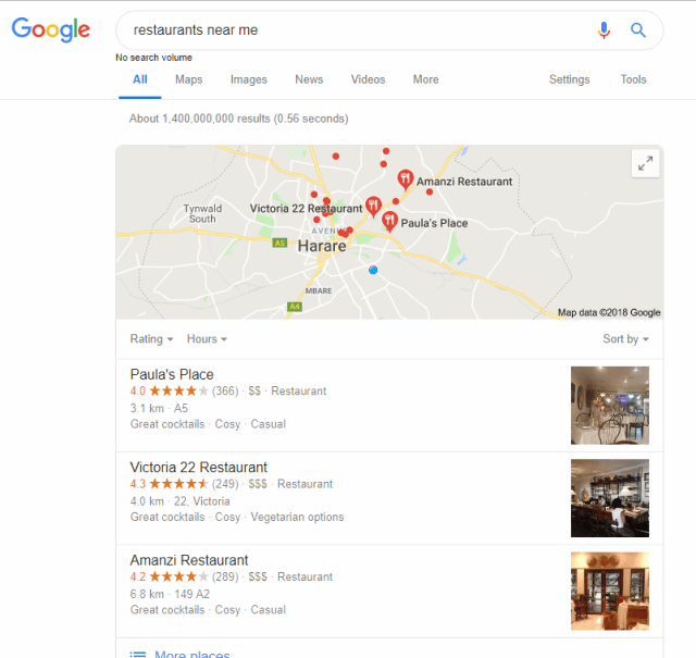 Increase your sales by appearing in Google maps results