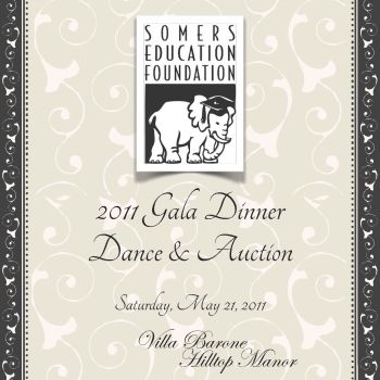 Somers Education Foundation 2011 Printed Gala Dinner Program Cover