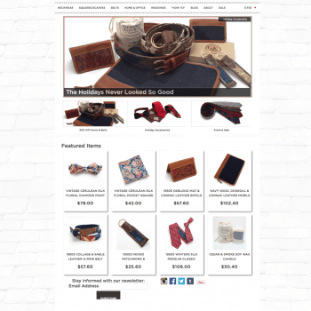 General Knot & Co Shopify eCommerce Store