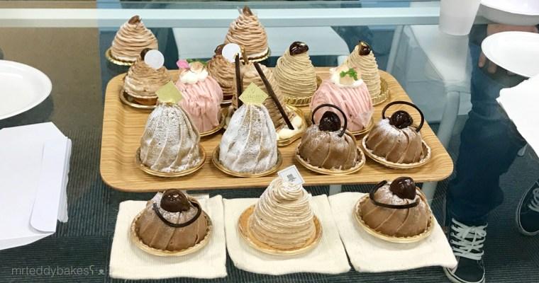 在日本參加甜點活動 – 甜點比較會