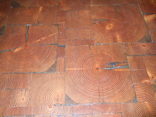 End Grain Flooring Tiles  End Grain Wood  Manomin Resawn