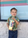 Timmy with magic potion 2014-08-16