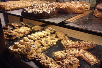 Danish baked pastries
