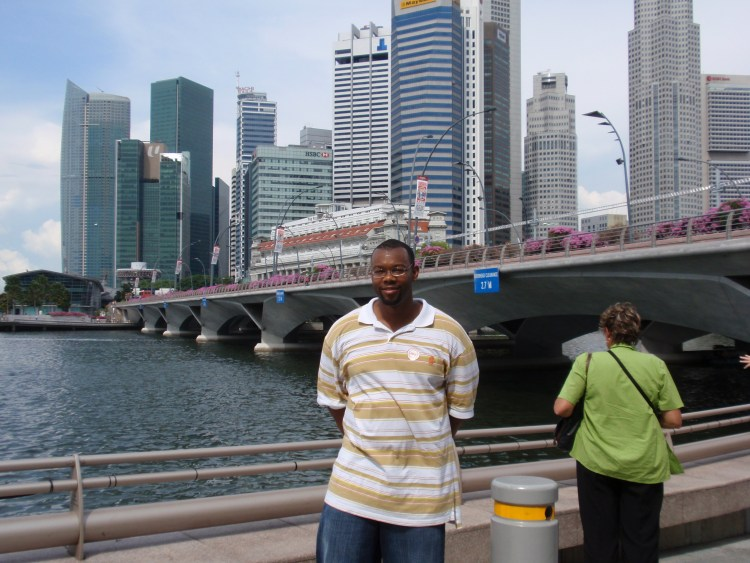 Michael V. Moore in Singapore in 2008
