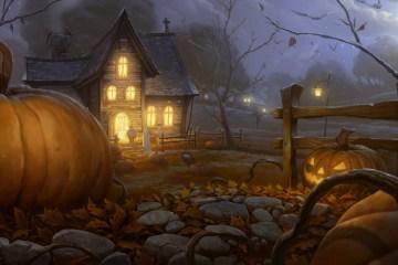 Halloween Classic spooky street
