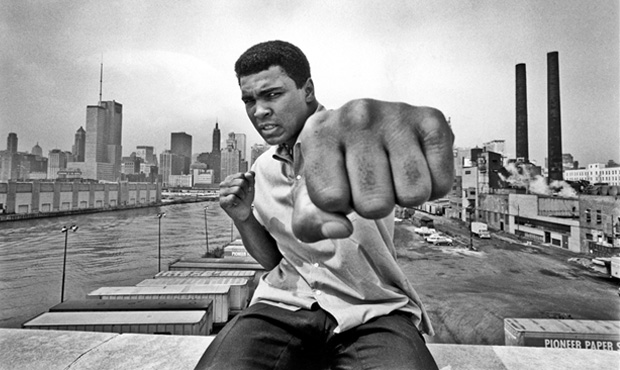 Mohamed Ali fist coming at you!