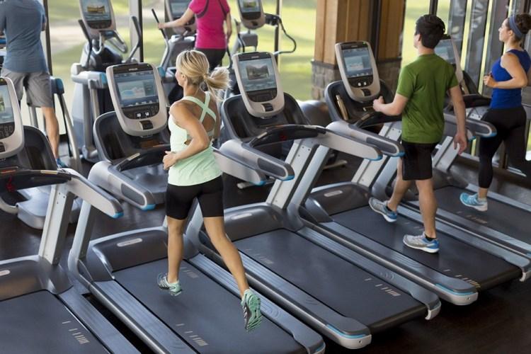 Jogging on treadmills