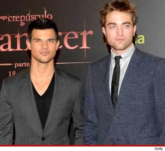 Jacob and Edward from Twilight