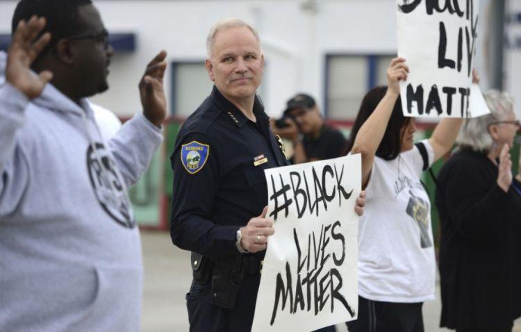 Richmond California Police Chief Chris Magnus