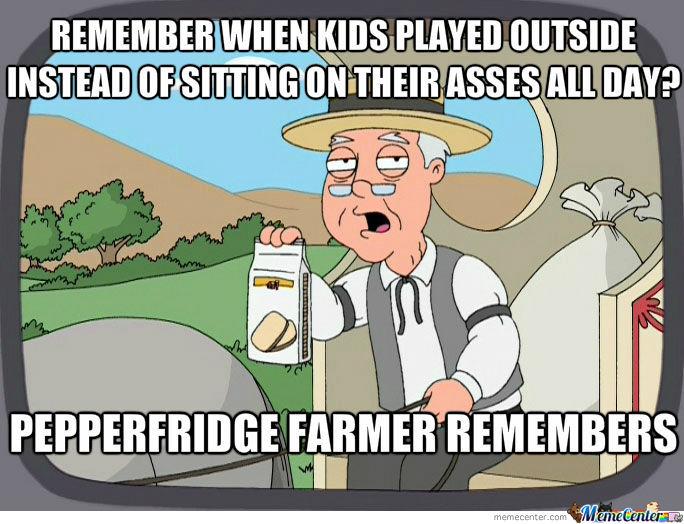 Family Guy Pepperfridge farm meme