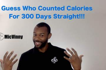"""Guess who counted calories for 300 days straight"" -MicVinny"