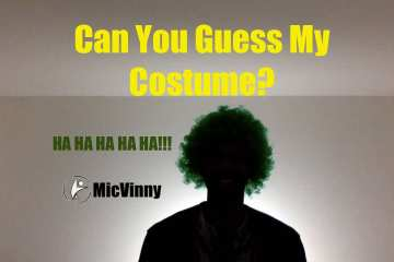 Can You Guess MicVinny's Costume?