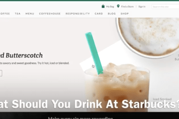 Are you drinking the right drink from starbucks?