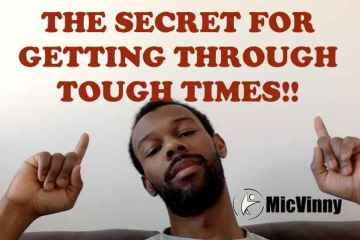 The secret for getting though tough times in your life. Make sure you keep building positive momentum when finding your constant from MicVinny