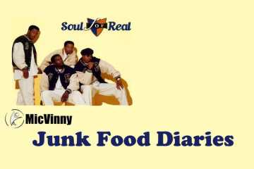 Junk Food Diaries from MicVinny features Soul For Real's song Candy Rain
