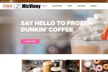 MicVinny vs. Dunkin Donuts Coffee, Is it possible to make it healthy?