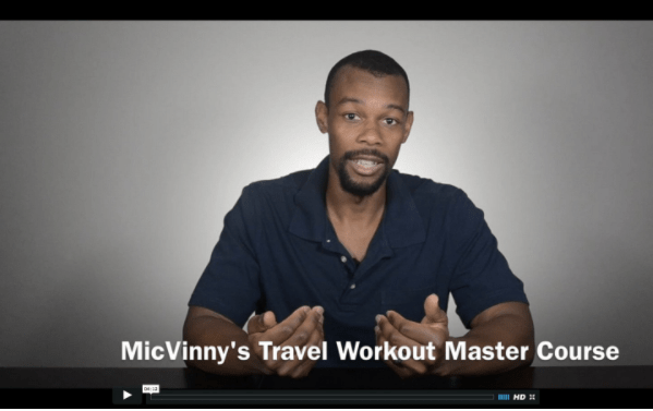 MicVinny's Travel Workout Master Course
