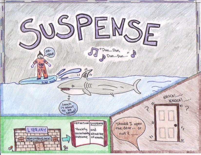 Suspense Mr Turner's English