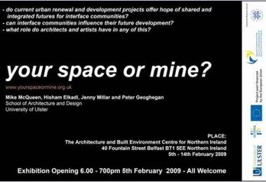 SharedFuture 20090205 - PLACE - Your space or mine invite