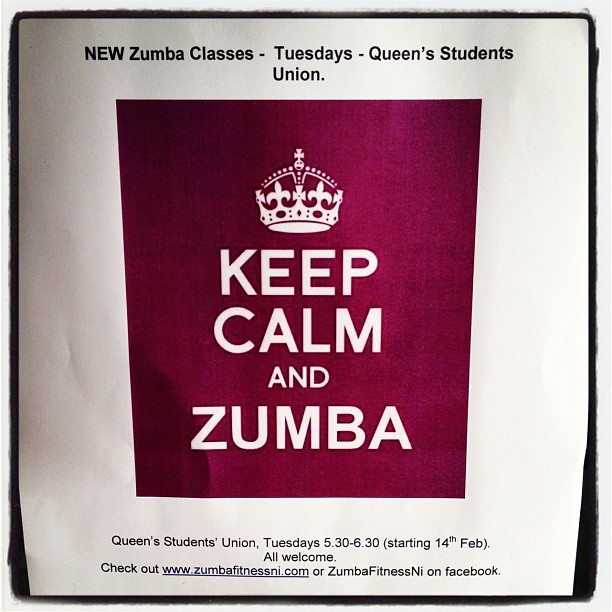 20120217 Keep calm and Zumba